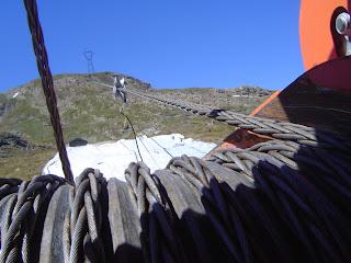 Cable trenzado antigiratorio cabrestantes