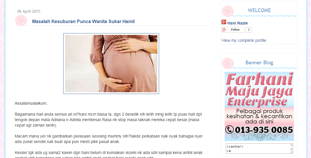 Template Blog Farhani Maju Jaya Enterprise