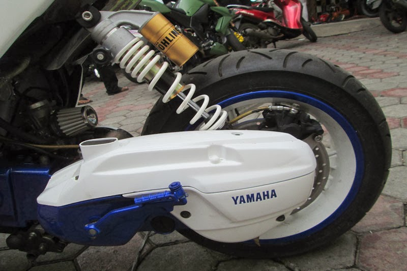 Modifikasi Yamaha Mio Soul