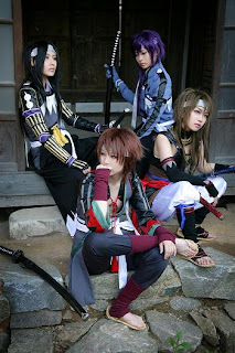 Hakuouki Cosplay by Tasha and the Gang