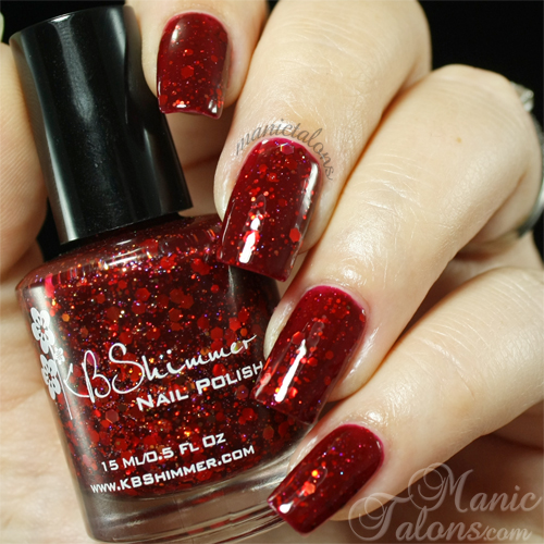 KBShimmer Leaf of Faith Swatch