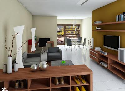 Gambar Desain Interior Ruang Tamu 2014