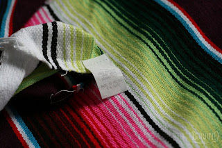 Mexican blanket for Hot Rod