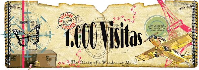 1000 visitas al blog Mi Baúl Viajero