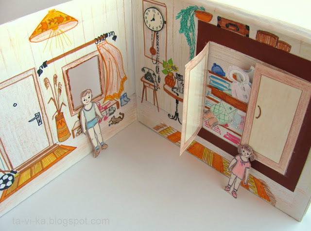 книжка - игрушка своими руками
