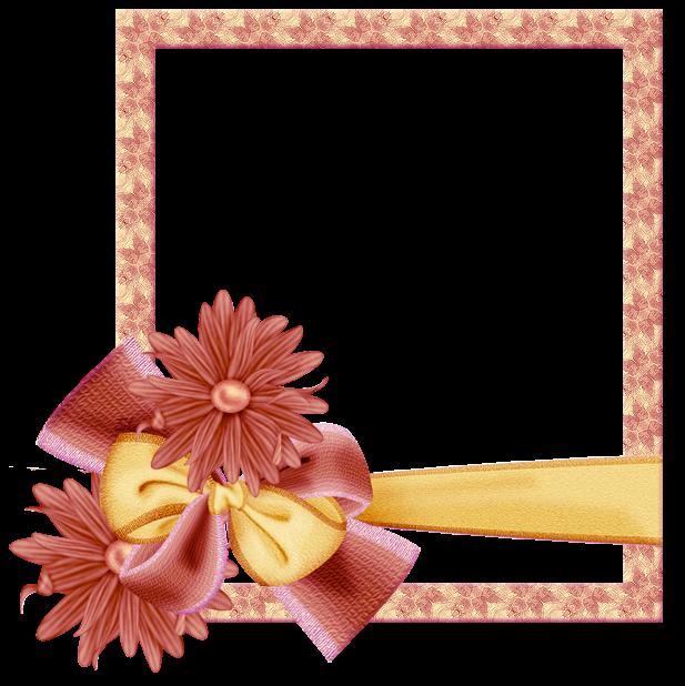 Marcos con flores en png - Imagui