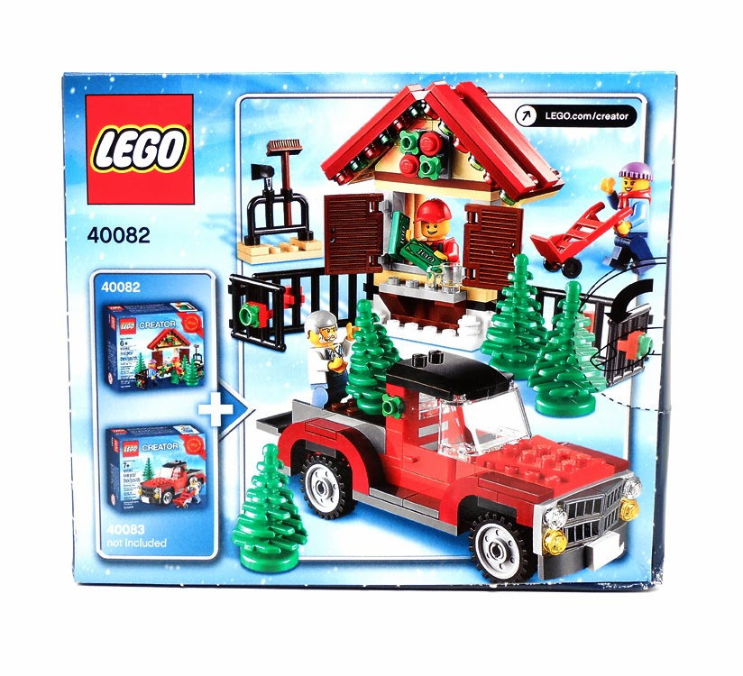 Oz Brick Nation: LEGO S@H Exclusive 40059: Santa's Sleigh Review.