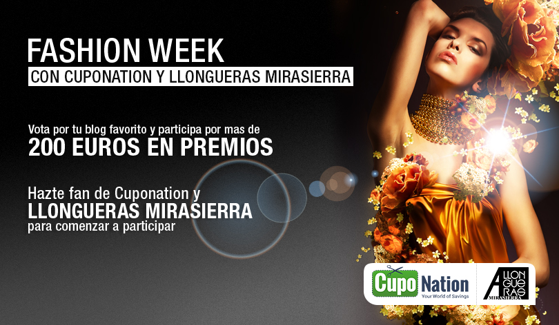 Blogger Fashion Week Cuponation y Llongueras Mirasierra