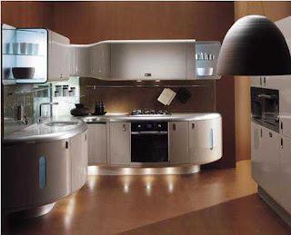 dapur modern desain interior rumah minimalis