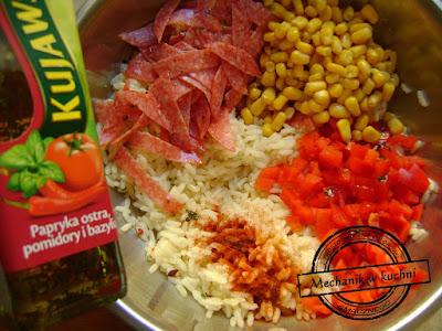 Sałatka węgierska składniki na przyjęcie sałatka do obiadu mechanik w kuchni prekąska