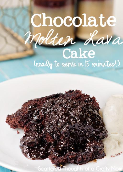 Pampered Chef Molten Chocolate Lava Cake