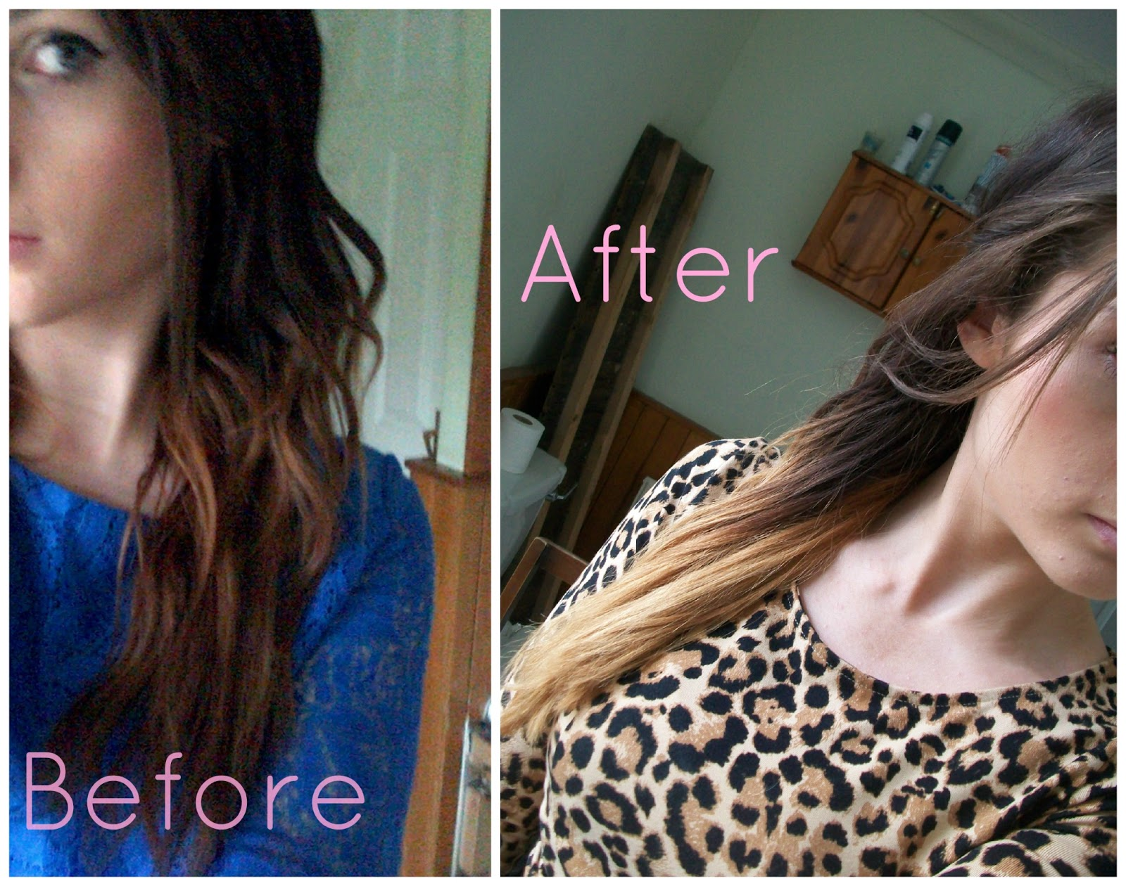 Emilicia Style A Beauty Fashion Lifestyle Blog My Ombre Hair