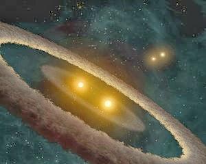 Planet dengan Empat Matahari