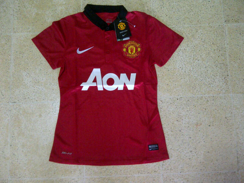 Jersey MU Home Ladies 2014 Berkerah