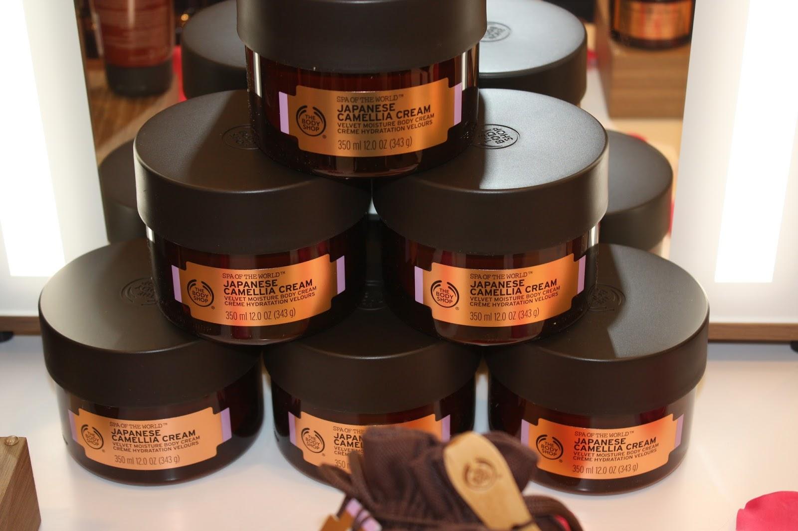 The Body Shop Southampton Spa Of The World Event Japanese Camellia Cream