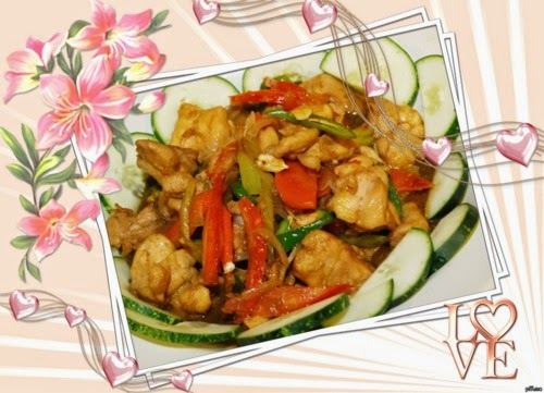 Tumis-tumis Ramadan Chef Sabri, Ayam Masak Stew Cili Kering, Ayam Goreng Jintan Manis dan Jus Epal, Timun dan Oren