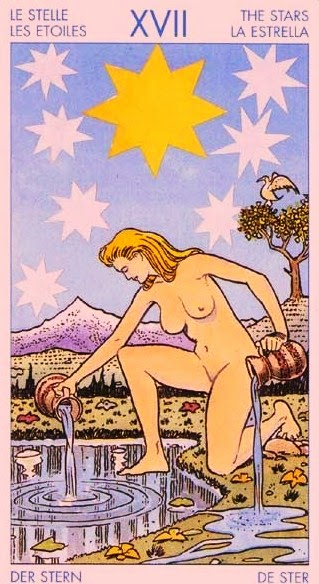 La estrella. Tarot Universal