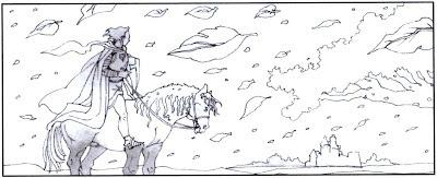 Ilustração de A lenda do belo Pecopin e da bela Baldour
