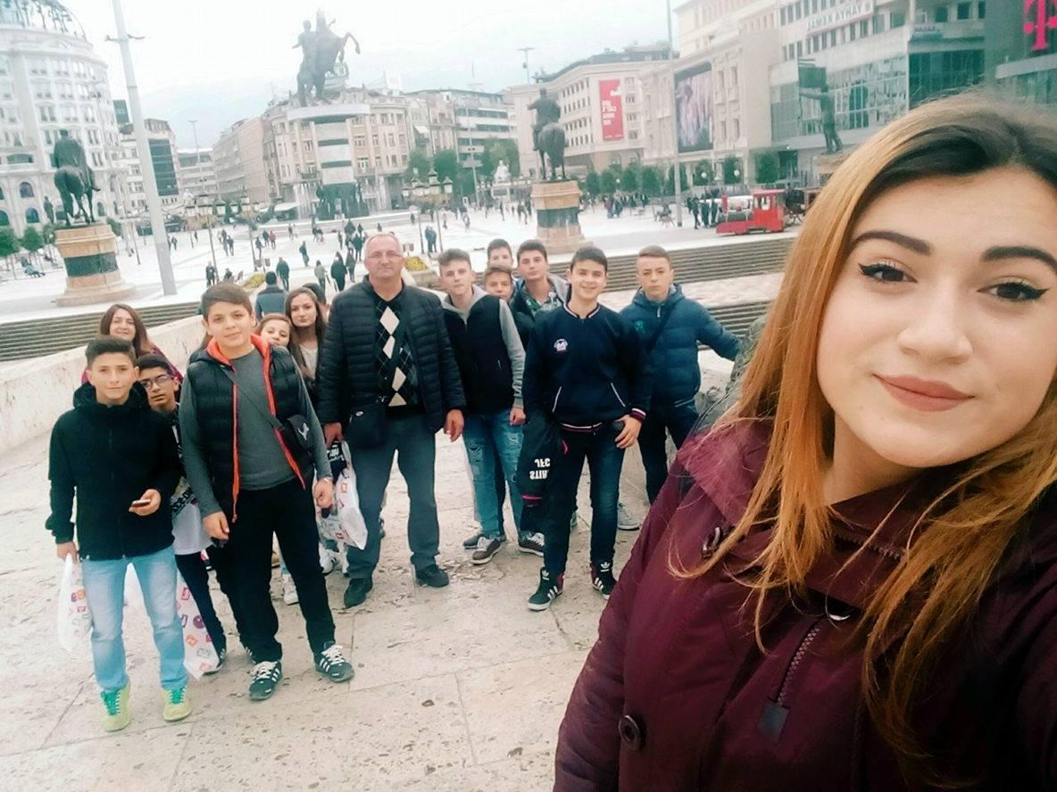 Екскурзија, Скопје, 2016 г