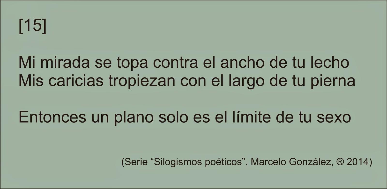 Poesía imaginacionista - Blog Literario: SILOGISMOS POÉTICOS - Nueva ...