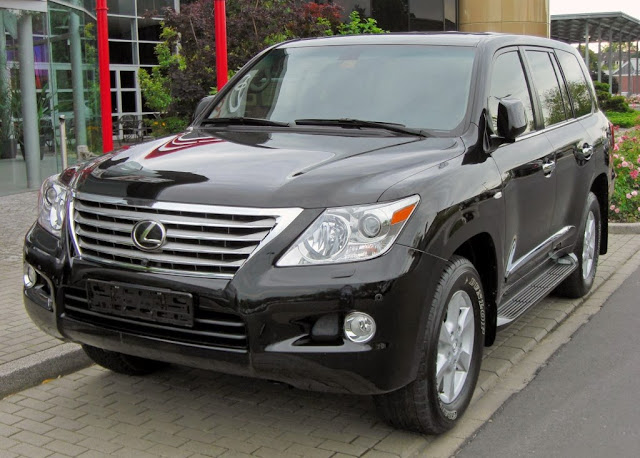 2014 Lexus LX Photos