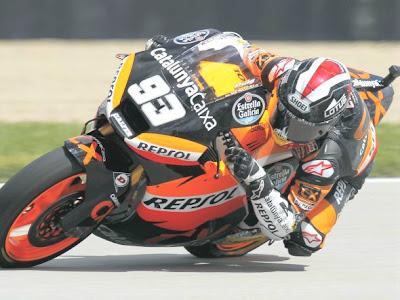 Hasil Balap Moto2 Indianapolis 2012 Marc Marquez Juara