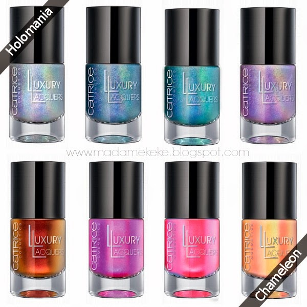 Luxury Lacquers by CATRICE – Holomania und Chameleon