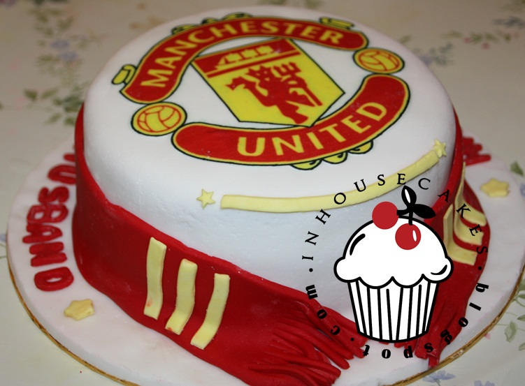 Man United Cake InHouseCakes
