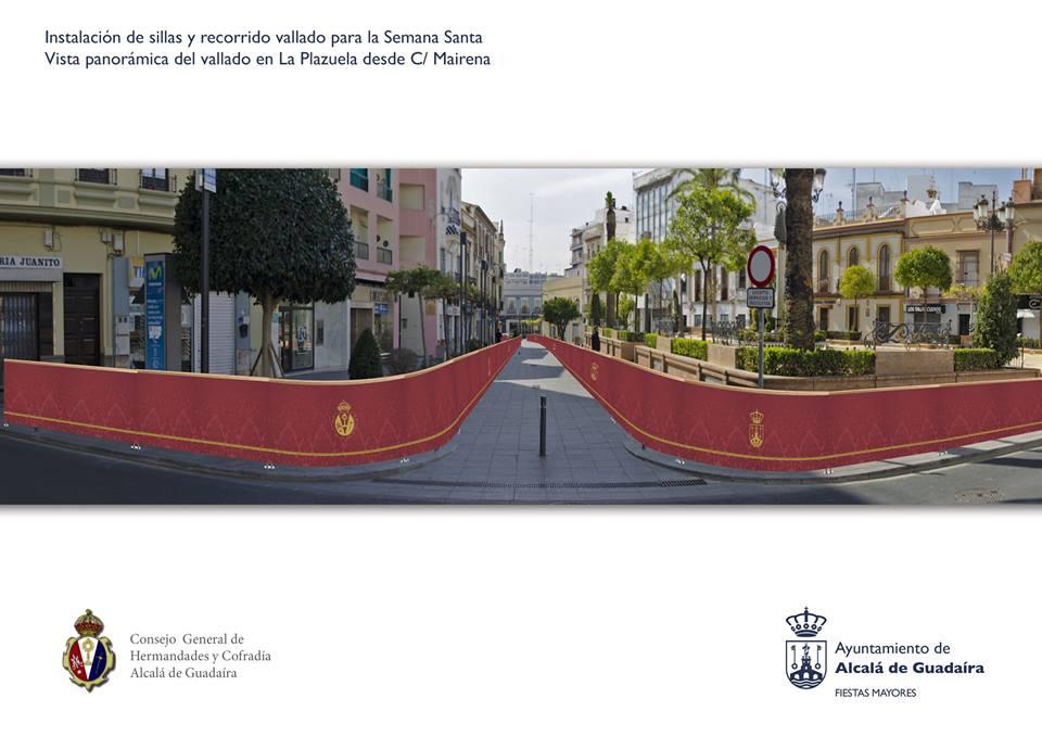 Sillas Semana Santa Alcalá de Guadaíra