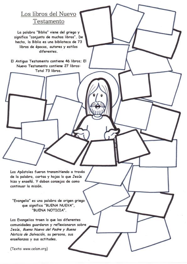 Increíble Libros Para Colorear Biblia Embellecimiento - Dibujos Para ...
