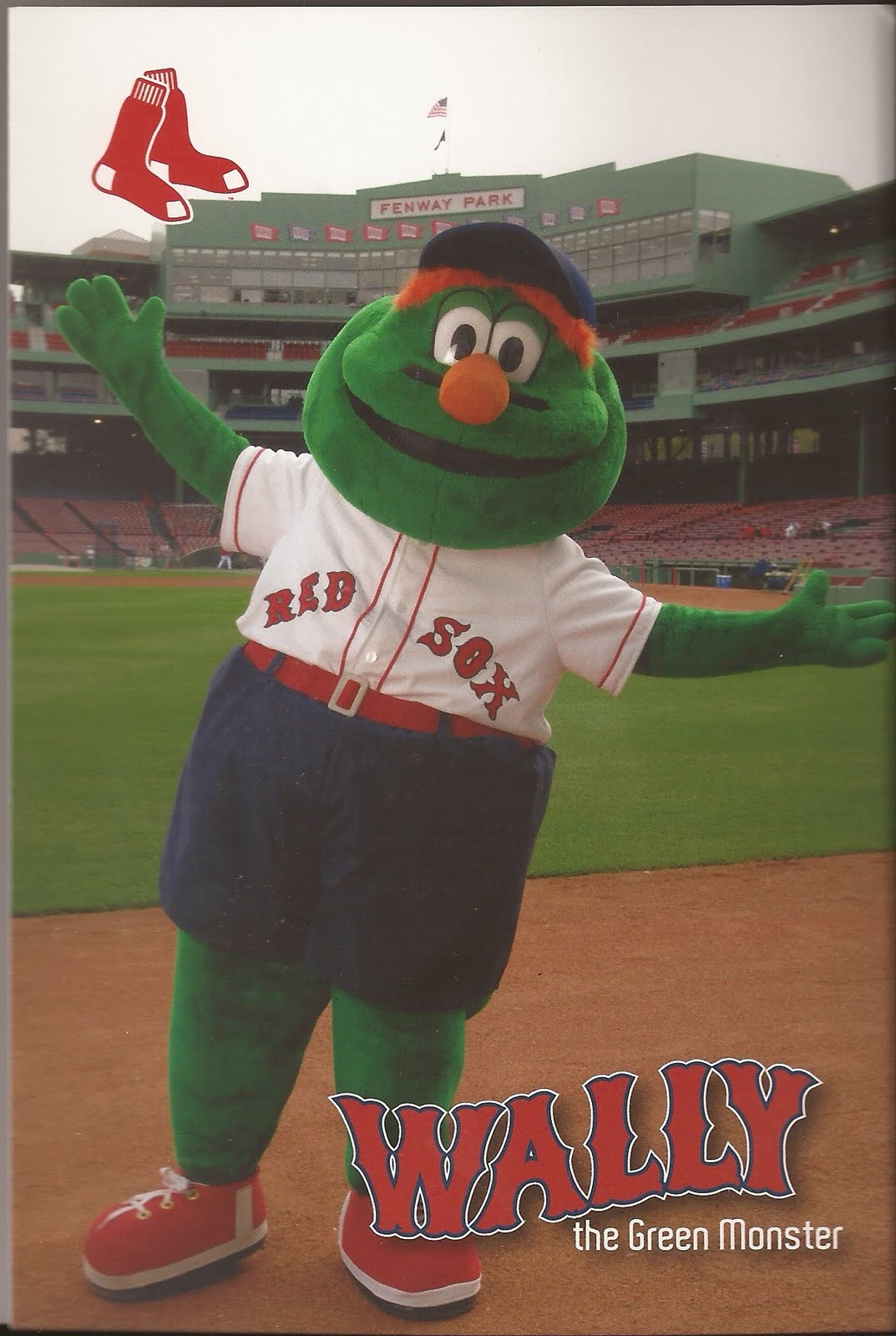 Product From The 90s With A Green Monster Mascot