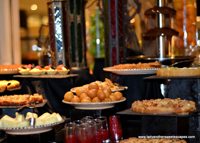 Arabic sweets at Medley Pullman Hotel
