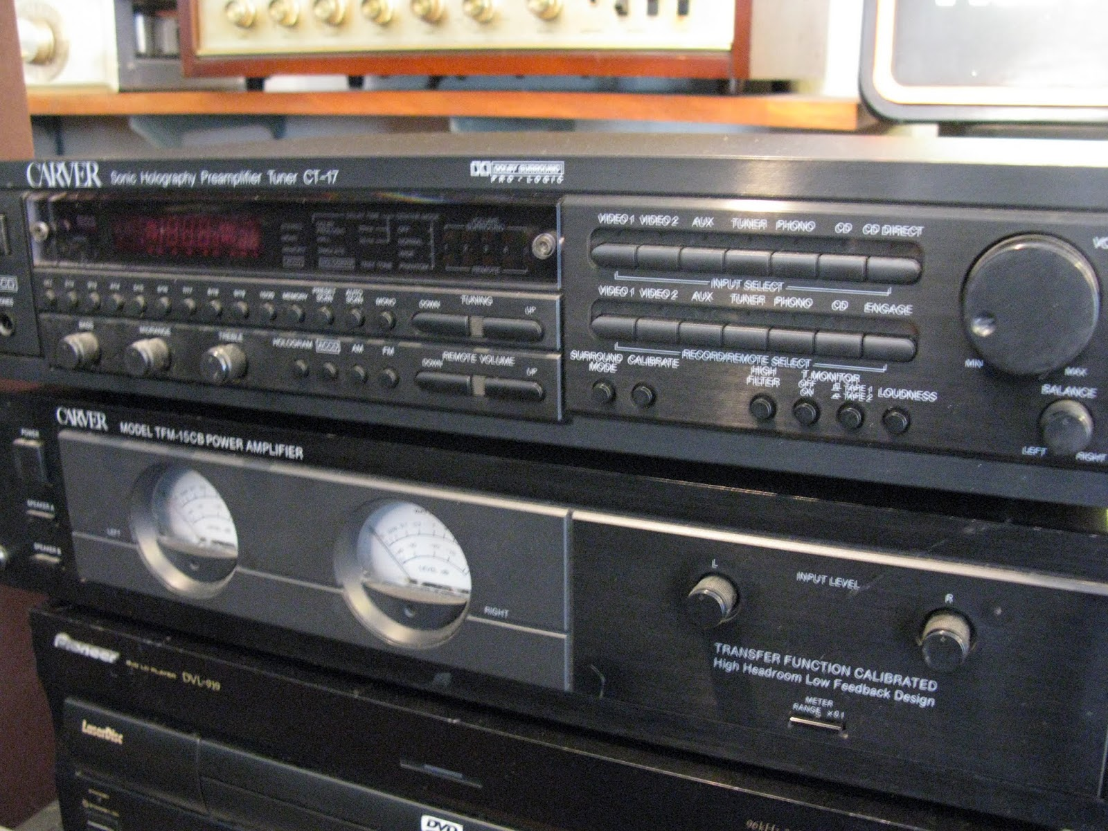 Price for the preamp and the power amp each is $395.00 firm.