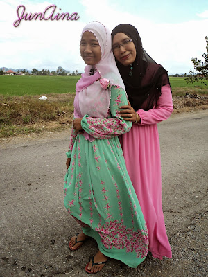 Dress Pink Saya Kena Bahan