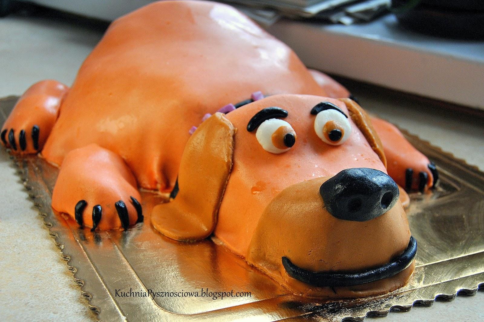 Tort w kształcie psa, a w zasadzie Trufli