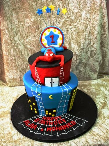 Cartoon Character Cake Design Ideas For Childrens Birthday Cute