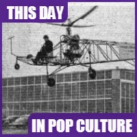 The first helicopter was flown on September 14, 1939.