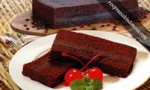 Resep Brownies Kukus - Masakan Khas Bandung