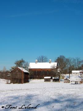 Historic Barn in Zanesville, Ohio by Toni Leland