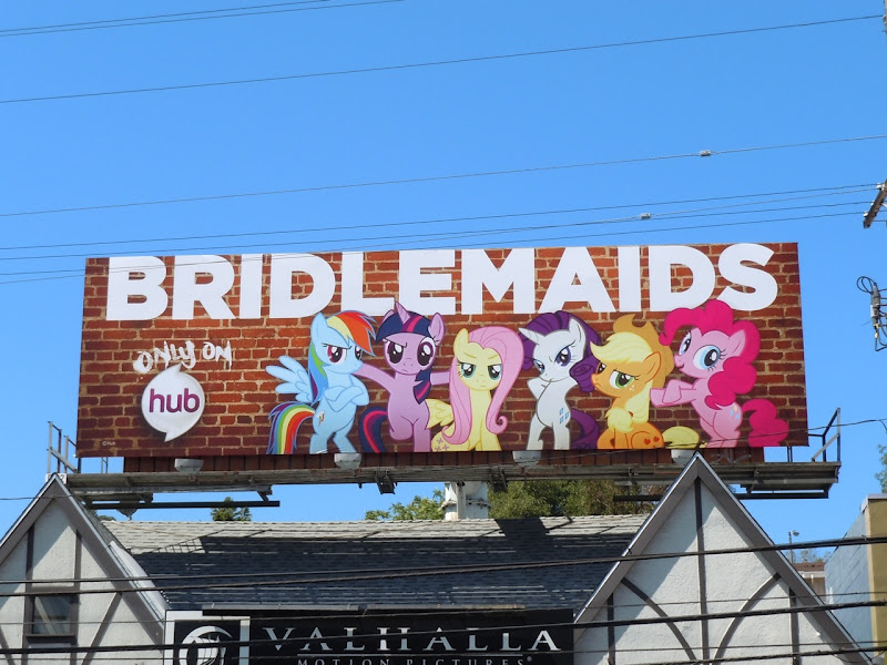 Bridlemaids billboard