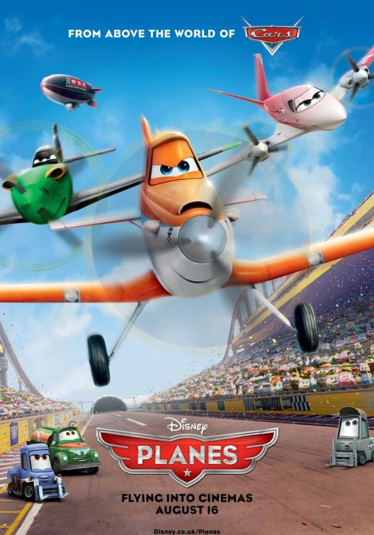 Planes, the new Disney animated movie from above the world ... Planes Movie Poster