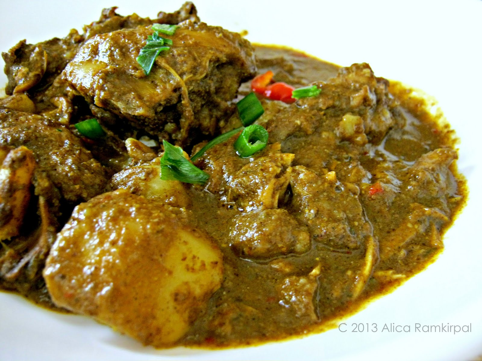 Guyanese style chicken curry alicas pepperpot forumfinder Gallery