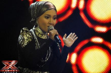 Fatin Lupa Lirik di babak Road To Grand Final