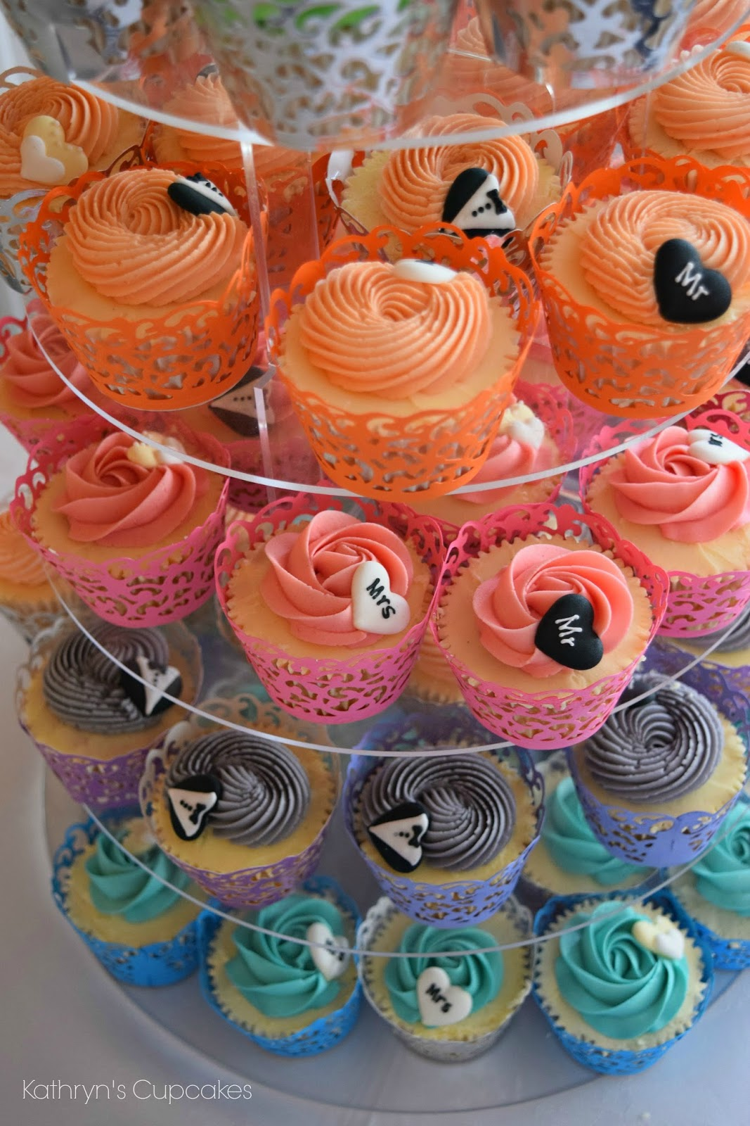 Rainbow, Cupcakes, Cake, Wedding, Themes, Beach, Summer