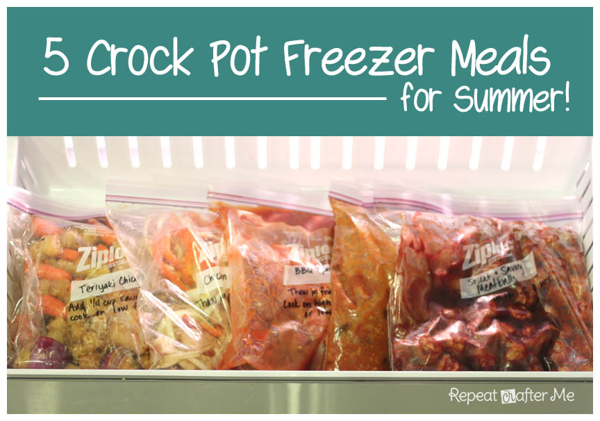 Crock Pot Frozen Meals