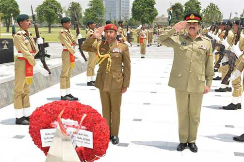 Pak Army Will Train Royal Army Of Oman