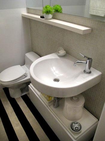 La Idea De Mueble Debajo De Lavabo Aunque Mejor Baldas Bengue Y
