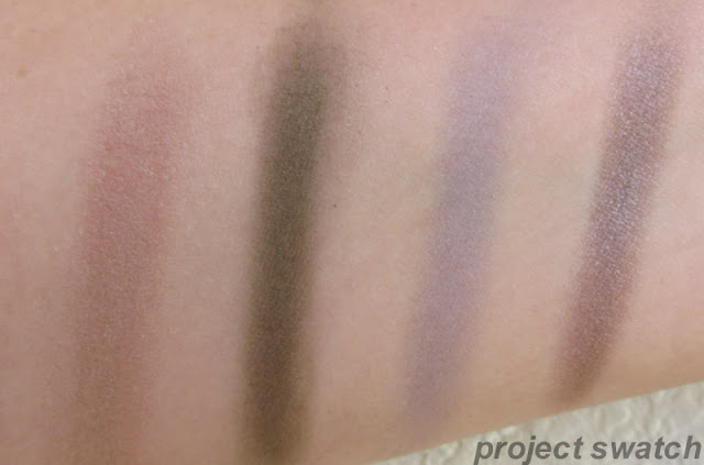 Addiction swatches - Sandbar, Safari Mode, Concrete Jungle, Flash Back