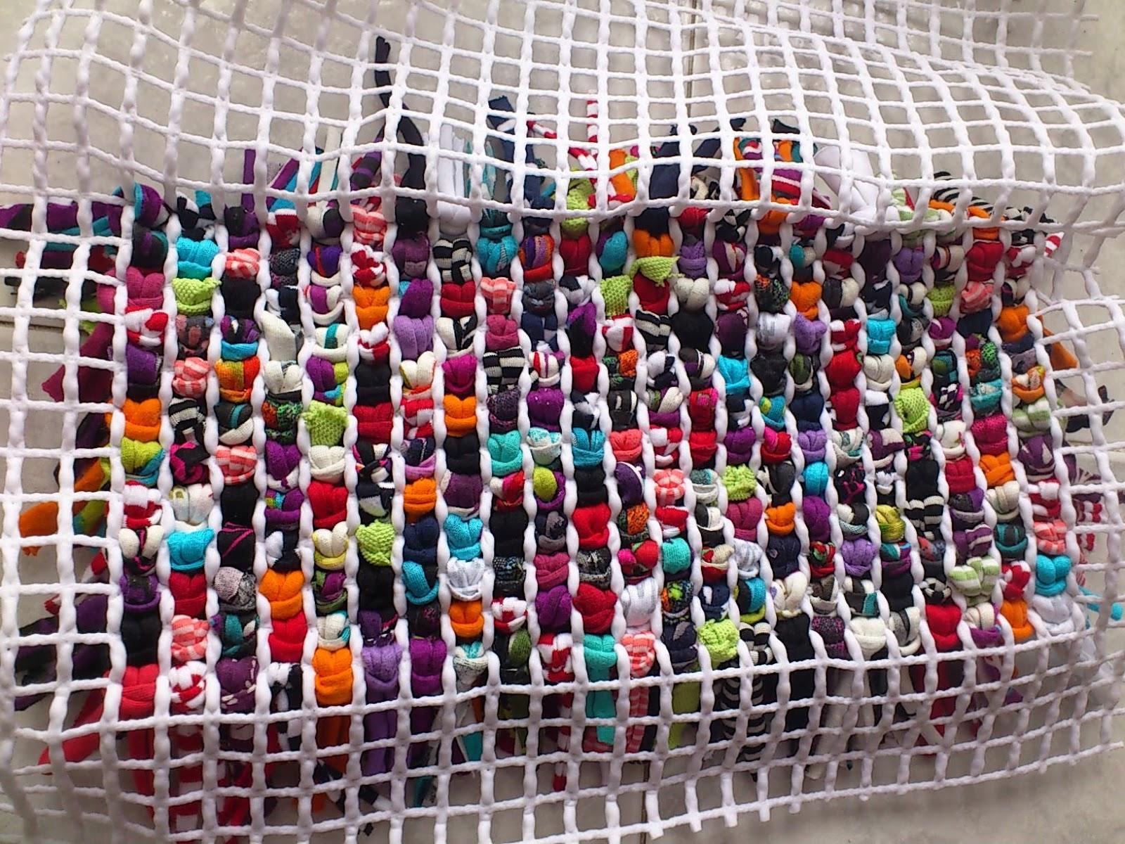 Tutorial nuevo bolso de trapillo tamknitting - Manualidades hechas con trapillo ...
