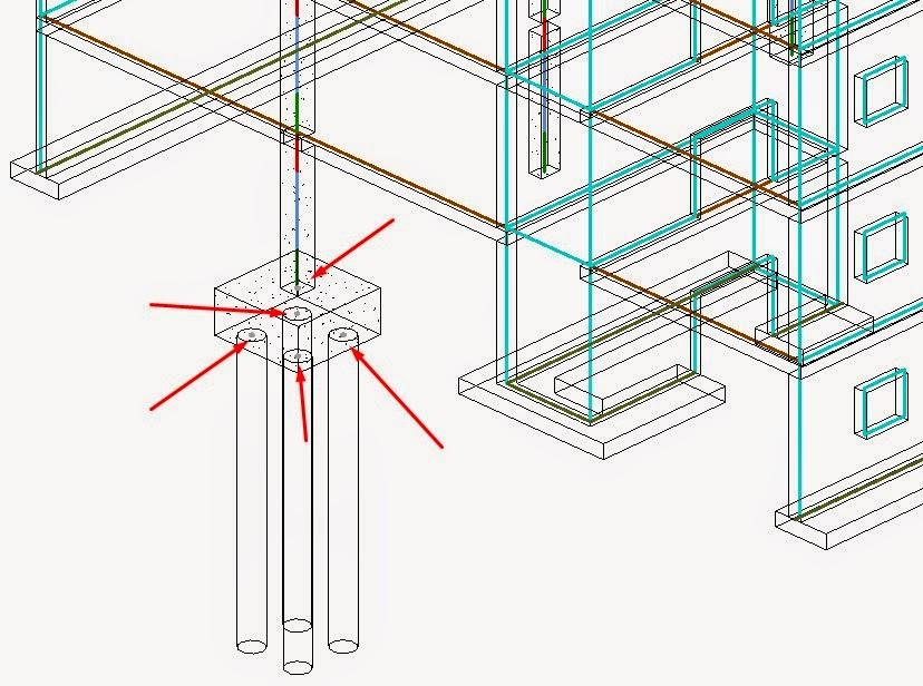 Pile Foundation Design : Sim sala bim exporting pile foundations from revit to fem